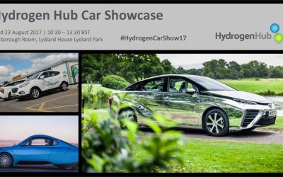 Hydrogen Cars land at Lydiard Park