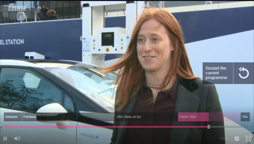 BBC News report on Hydrogen Vehicles