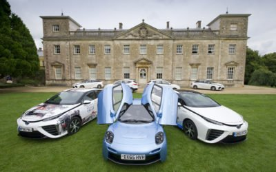 Hydrogen cars to be promoted to businesses and the public at roadshows across the UK